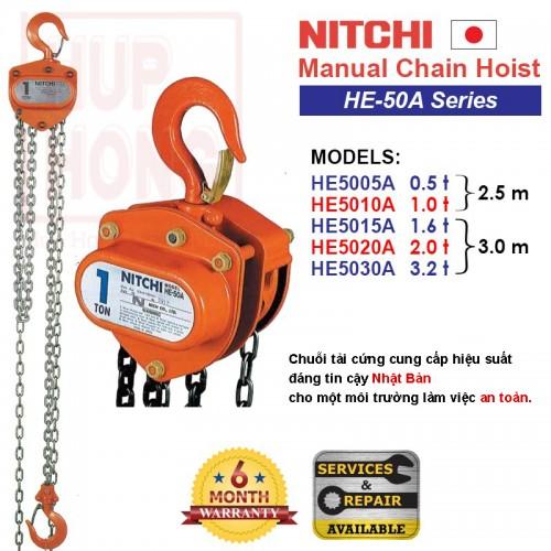 Palăng Nitchi - HE-50A Series